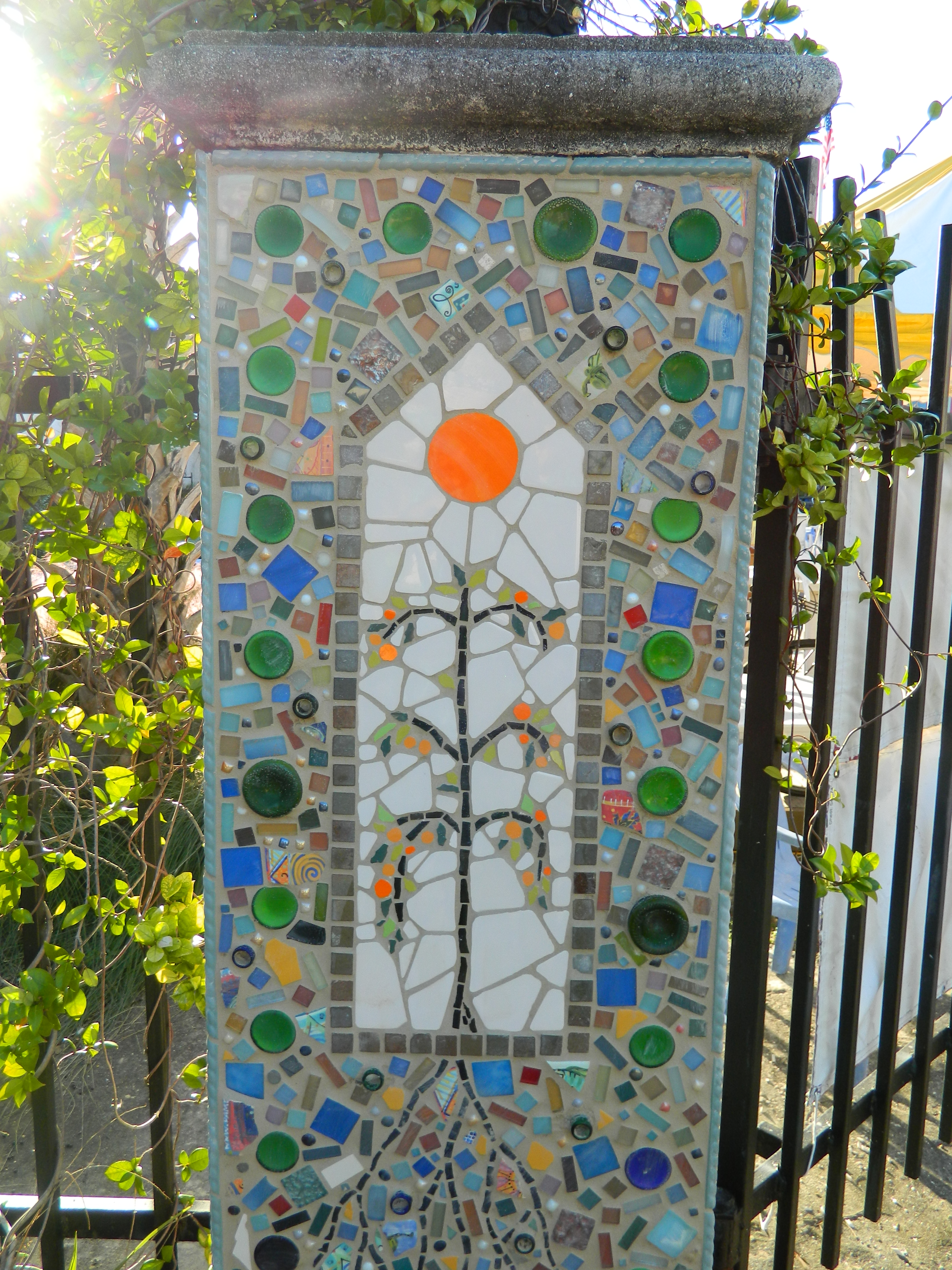 WSLR Gatepost